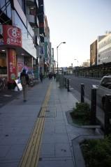 荻窪自動車学校方面へ歩きます